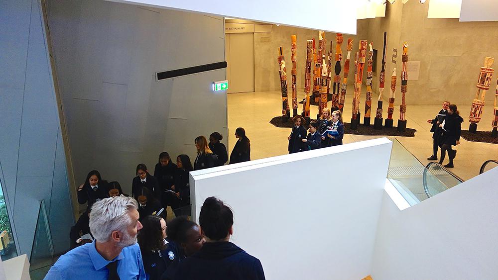 Identity through Art at the NGV